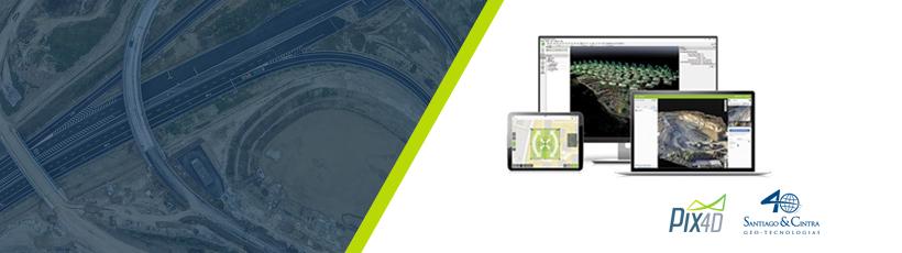 Santiago & Cintra fecha parceria de exclusividade com a Pix4D!