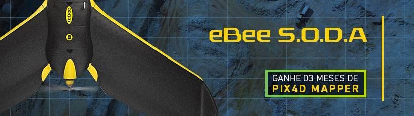 Santiago & Cintra anuncia promoção para você adquirir o senseFly eBee S.O.D.A. com 3 meses de Pix4Dmapper gratuito