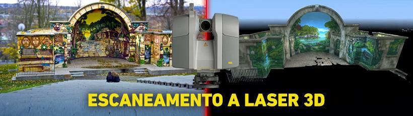 Como funciona o escaneamento a Laser 3D?
