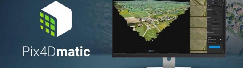 Pix4D anuncia lançamento do software de fotogrametria digital Pix4Dmatic